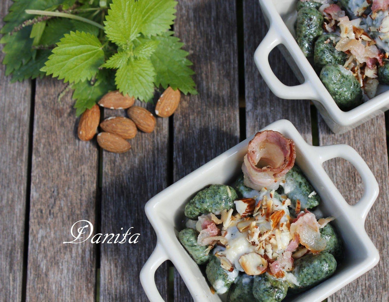 Le leccornie di Danita: Gnocchi di ortiche croccanti con fondutina di parmigiano