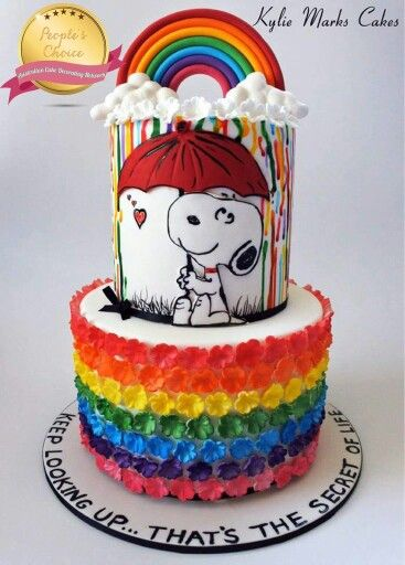Phenomenal Snoopy Cake With Images Snoopy Cake Australia Cake Cake Funny Birthday Cards Online Alyptdamsfinfo