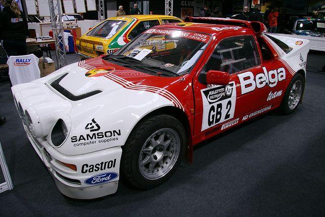 Ford Rs200 Belga Team