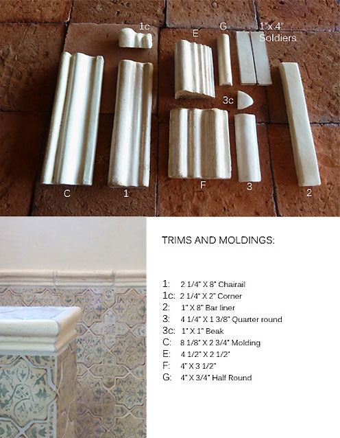 Trim 2 1 Tile Trim Trim Terracotta Tiles