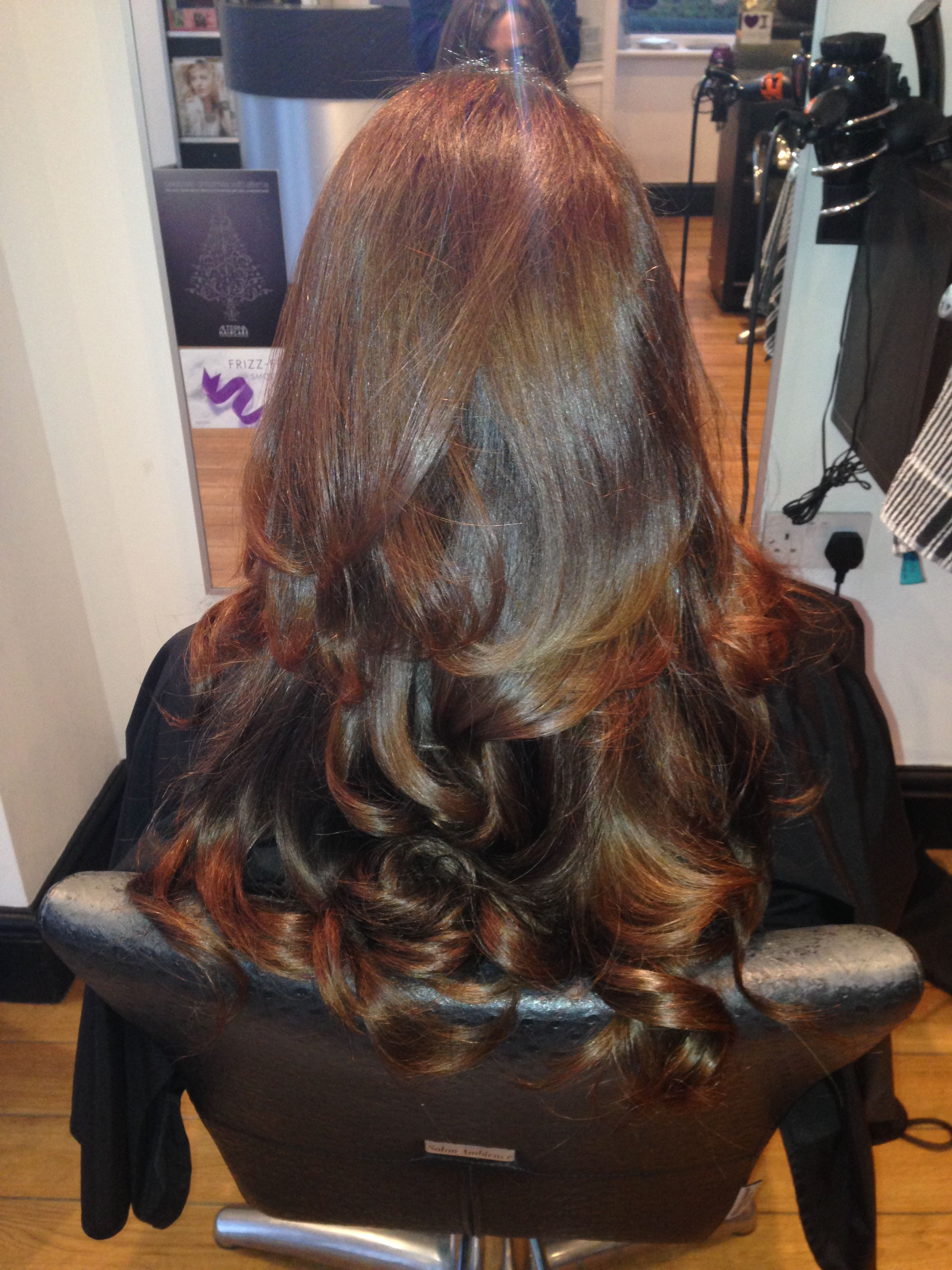 My Own Micro Ring Hair Extensions After A Bouncy Blow Dry Feeling