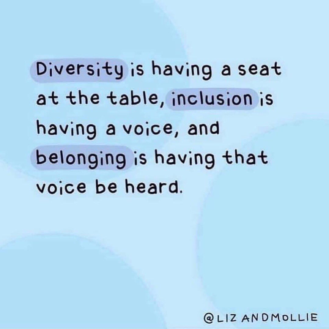Diversity is Having a Seat At the Table ...