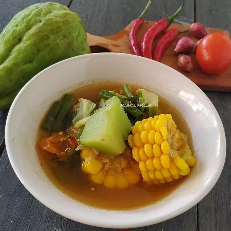 Resep Sayur Asem Jakarta Makanan Sayuran Resep