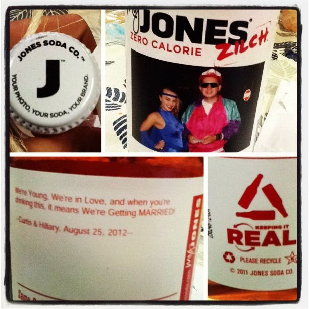 Make Your Very Own Jones' Soda Label. Average Cost Is