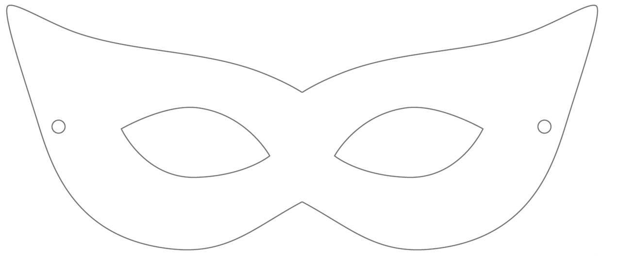 Lively image pertaining to printable masquerade masks templates