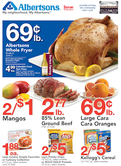 Albertsons Coupon & Deals for the week 1/23 Coupon deals