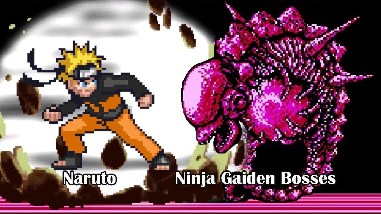 Naruto Vs Ninja Gaiden Nes Boss Rush 火影忍者外傳鳴人挑戰忍者龍剣