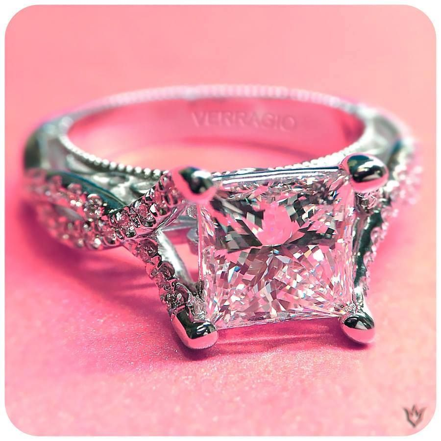 Vintage inspired and classically #Verragio Engagement Ring Would put ...