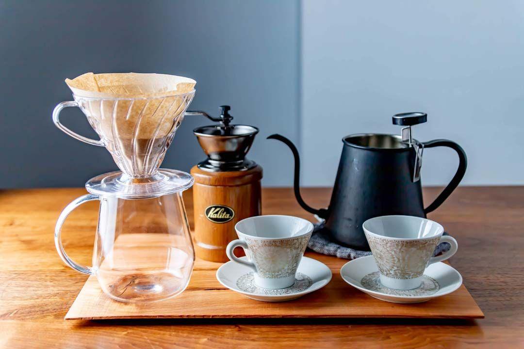 フレンチプレスに耐熱ガラスのポット 美しい道具で丁寧にお茶をいれる楽しみ コーヒー フレンチプレス お茶