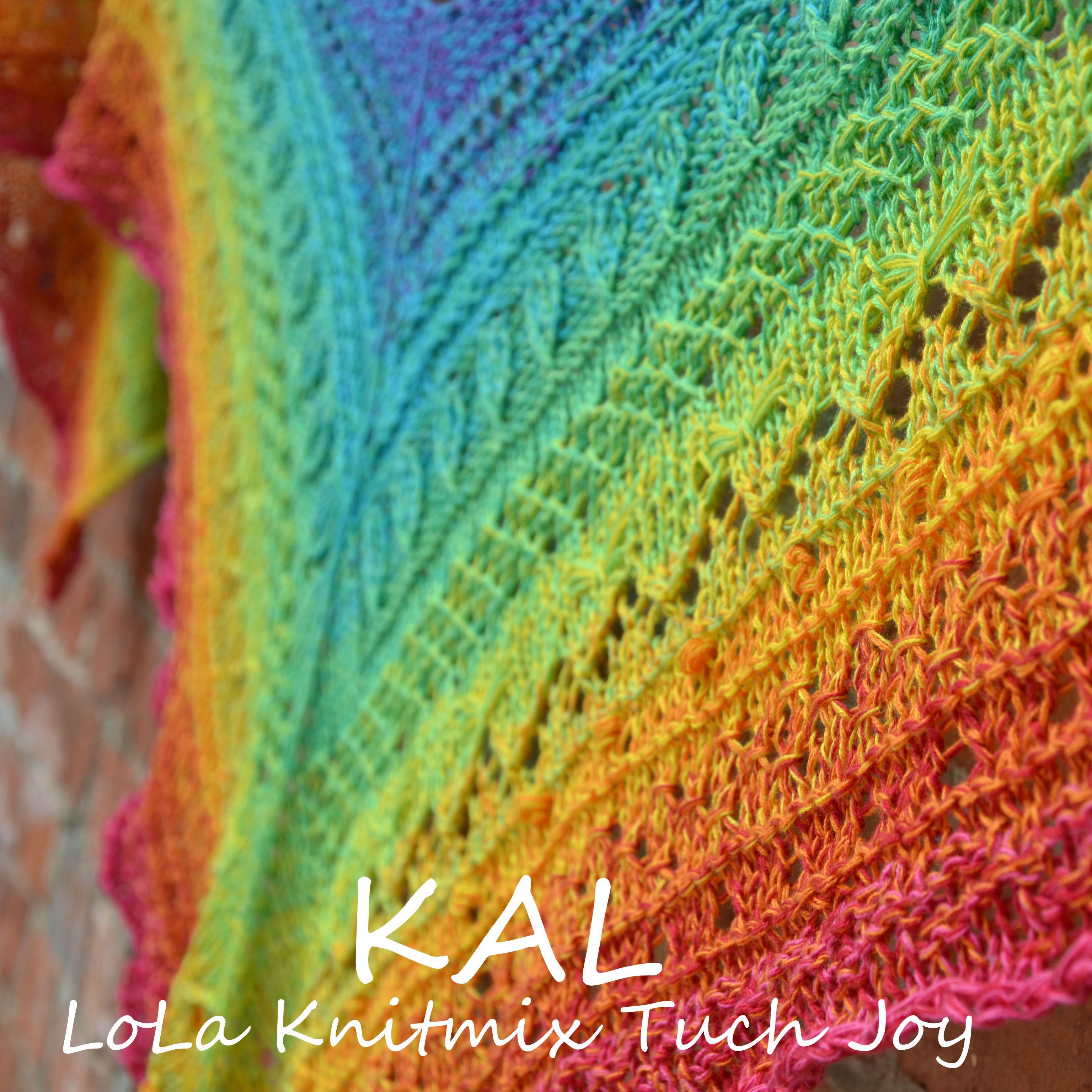 Photo of KAL LoLa 4fach Knitmix Tuch Joy