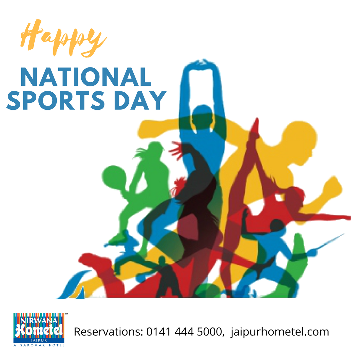 The National Sports Day is observed every year across
