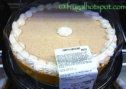 pumpkin cheesecake costco frugalhotspot holidays fall in 2018