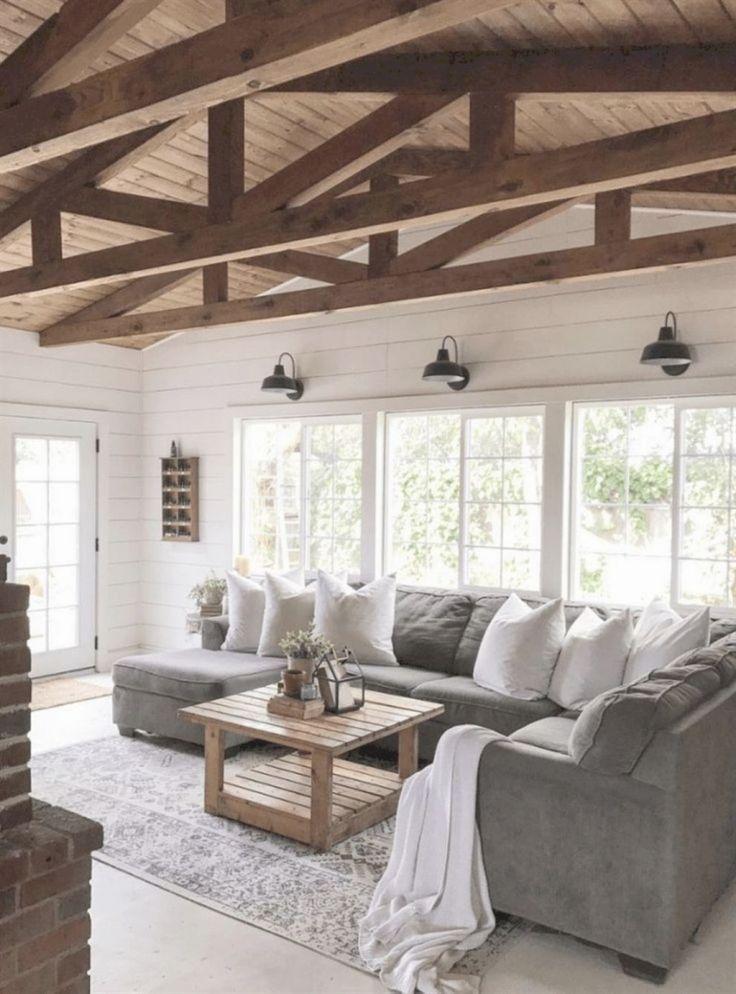 34 Insane Farmhouse Living Room Decor And Design Ideas