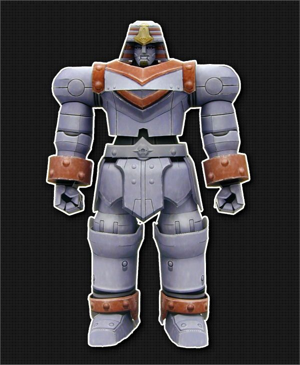 Giant Robo - GR-1 Free Robot Papercraft Download - http://www.papercraftsquare.com/giant-robo-gr-1-free-robot-papercraft-download.html#GiantRobo, #GR1, #Robot