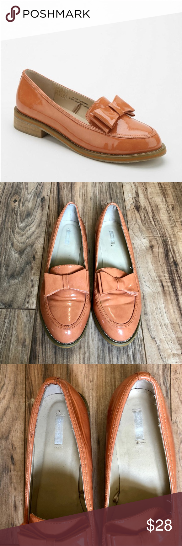 9f47c34c44f Cooperative Urban Outfitters Apricot Patent Loafer GREAT shoes from  Cooperative