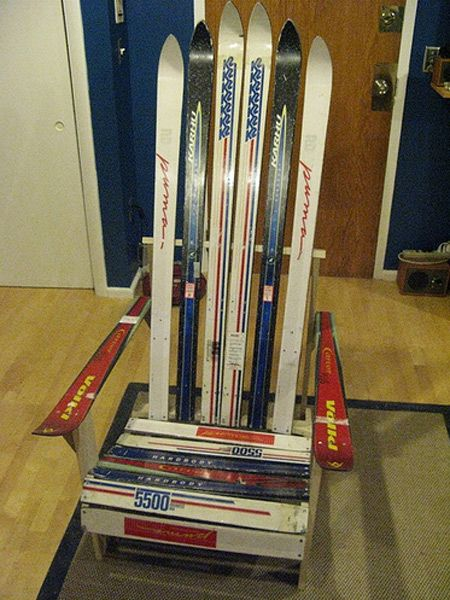 Refurbished Furniture | Flickr Pool: Ski Furniture One Upmanship |  Toolmonger