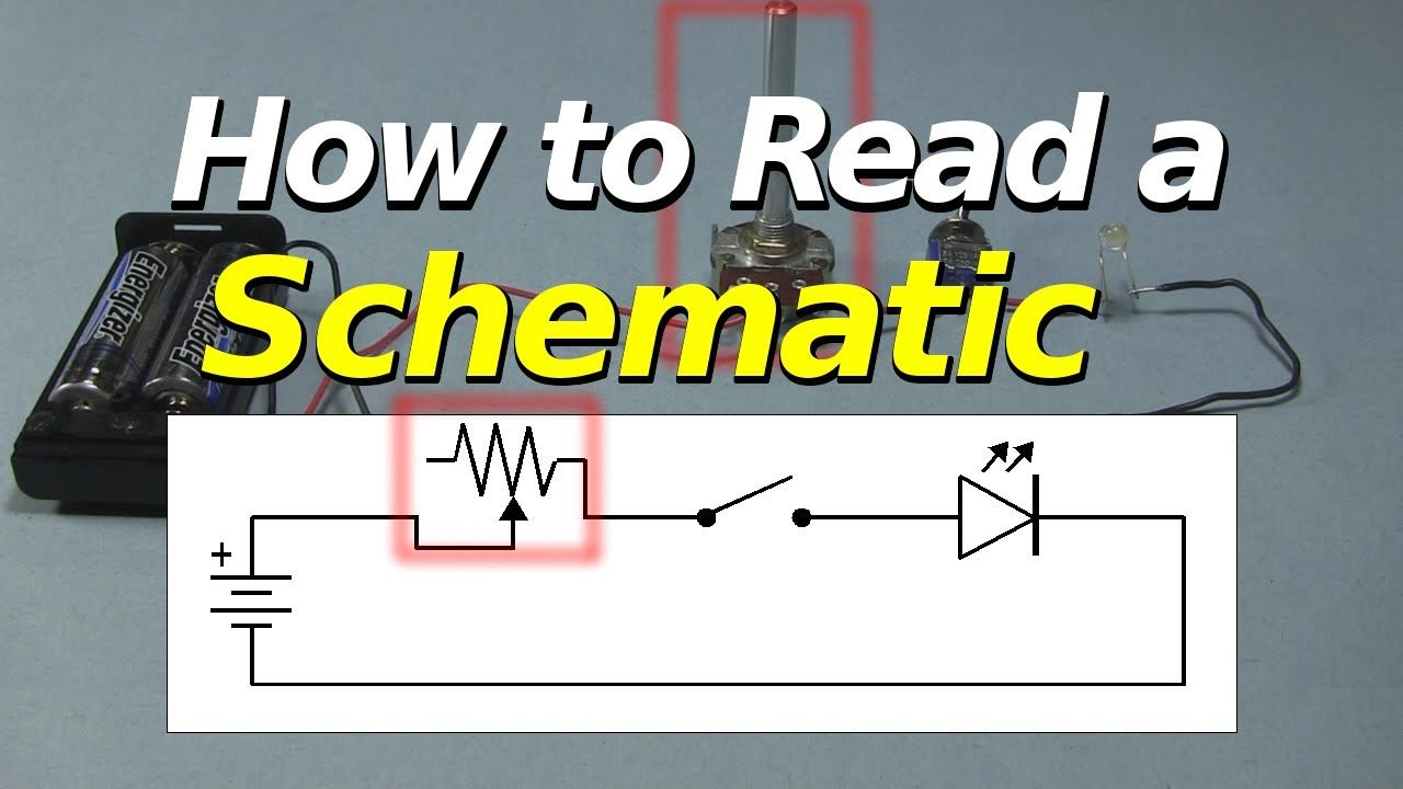How to read a schematic electronic schematics circuit