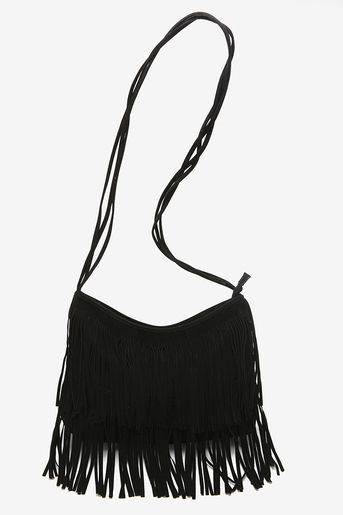 Perfect black fringe bag to go with everything and only 58 ... 1cbed9444e41a