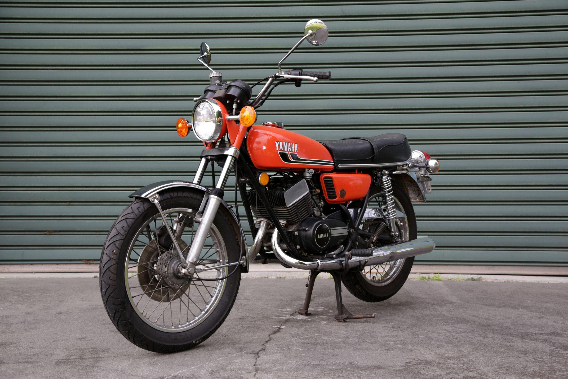 1975 Yamaha RD350 f45ls | RD 350 | Yamaha bikes, Antique