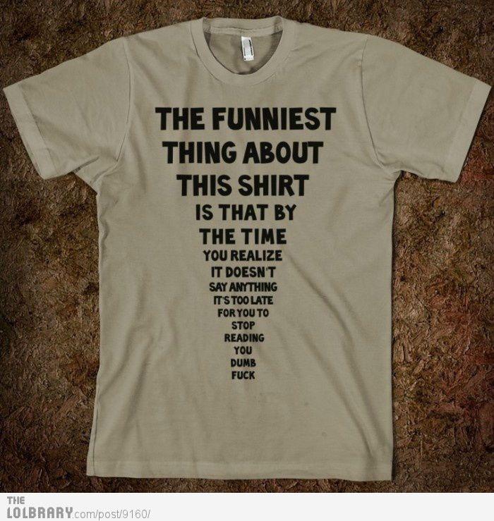 Cool shirt ;)