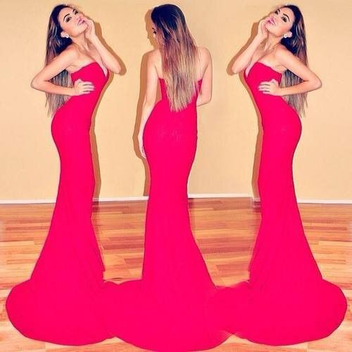 Image Via We Heart It Https Weheartit Com Entry 154629481 Beautiful Fashion Luxury Makeup Style Swag Strapless Dress Formal Fashion Prom Dresses