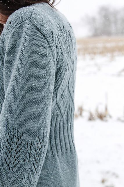 I Feel Vine Cardigan pattern by Fiona Ellis | Pinterest | Tejido ...