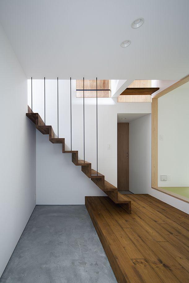 7層の住宅・間取り(大阪府東大阪市)   注文住宅なら建築設計事務所 フリーダムアーキテクツデザイン