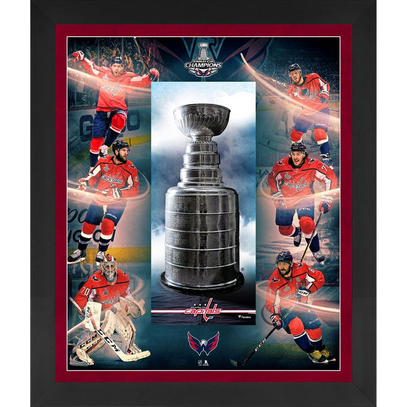 4905637ba Washington Capitals Fanatics Authentic 2018 Stanley Cup Champions Framed  23