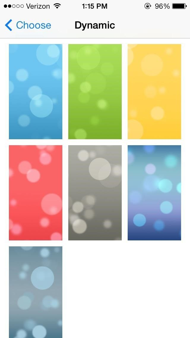 First Look The New Ringtones Dynamic Wallpapers In IOS 7 For