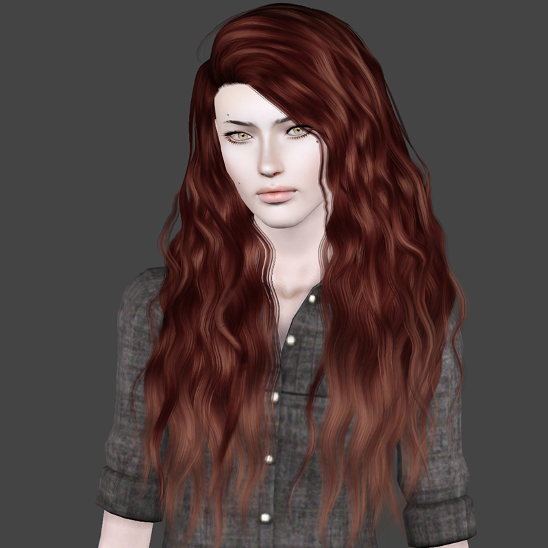 Sunny Cc Finds Bringmevictory Stealthic S Vanity And Sims Hair Long Hair Styles Sims 4 Curly Hair