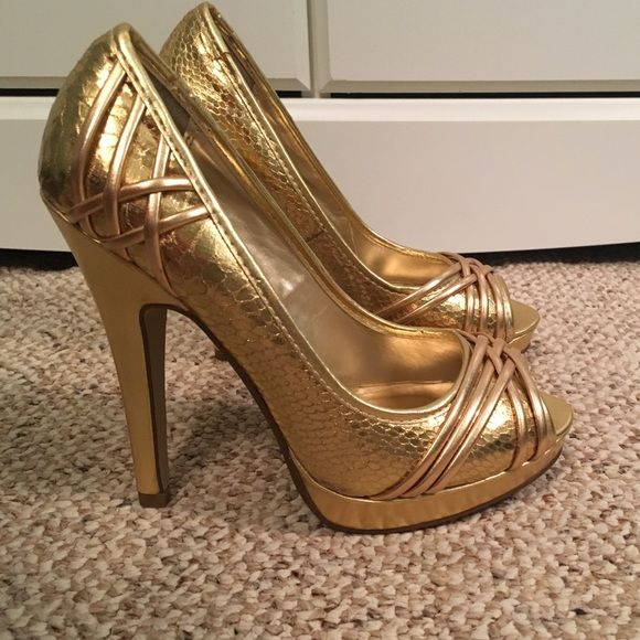 All Gold Heels