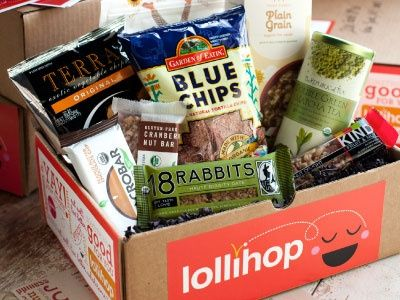 Hollihop- receive healthy snacks throughout the year with this direct to you service.