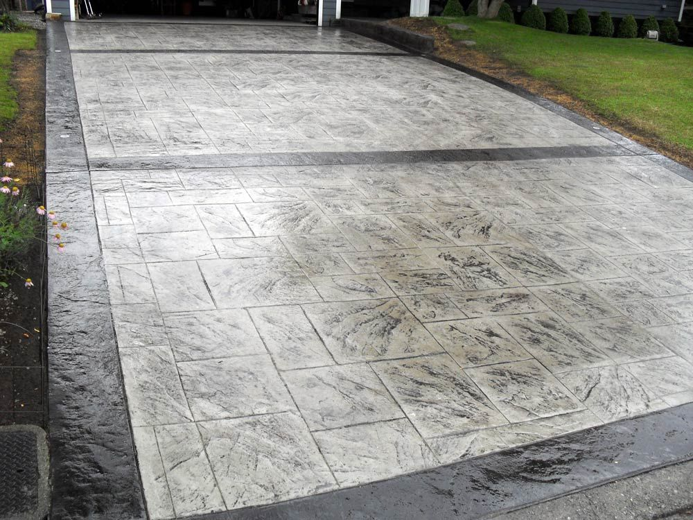 Concrete Stamped Driveways Click Here To Get A Stamped