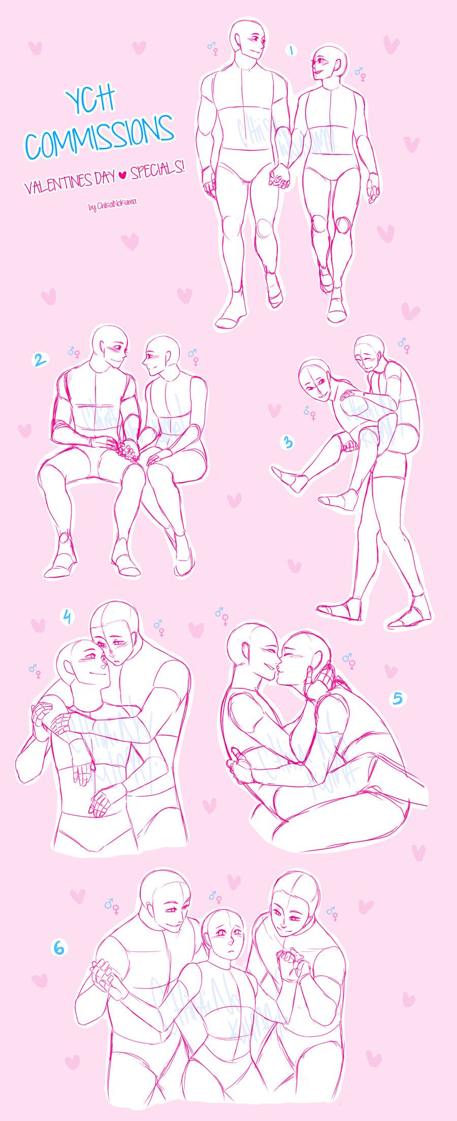Ych Commissions Valentines Day Specials Open By Chiisainokuma