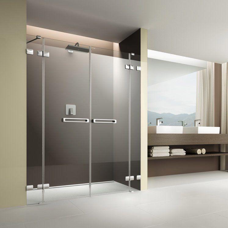 teilen Pendeltür dusche, Große dusche, Barrierefrei bad