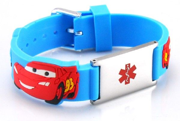 Kids Cars Medical Id Bracelet I Need To Get One Of These For Ayden