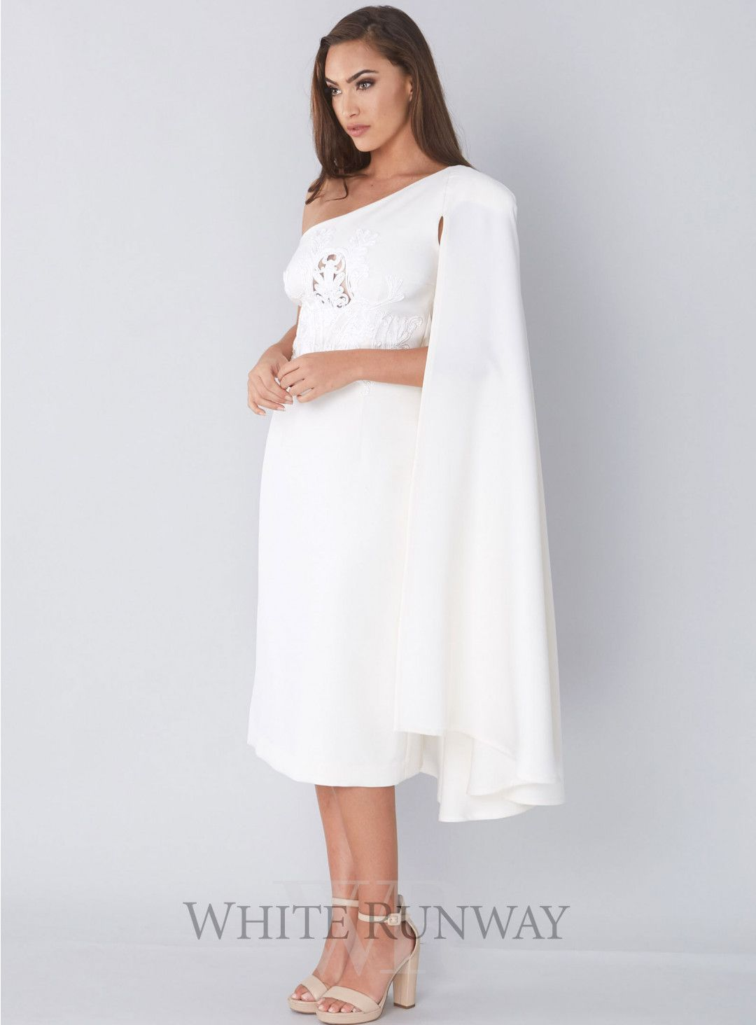 Thurley wedding dress  Granda Flora Cape Dress by Thurley  Grecian Theme Weddings
