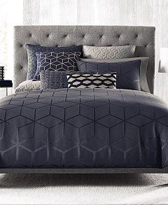 hotel collection cubist fullqueen duvet cover created for macyu0027s