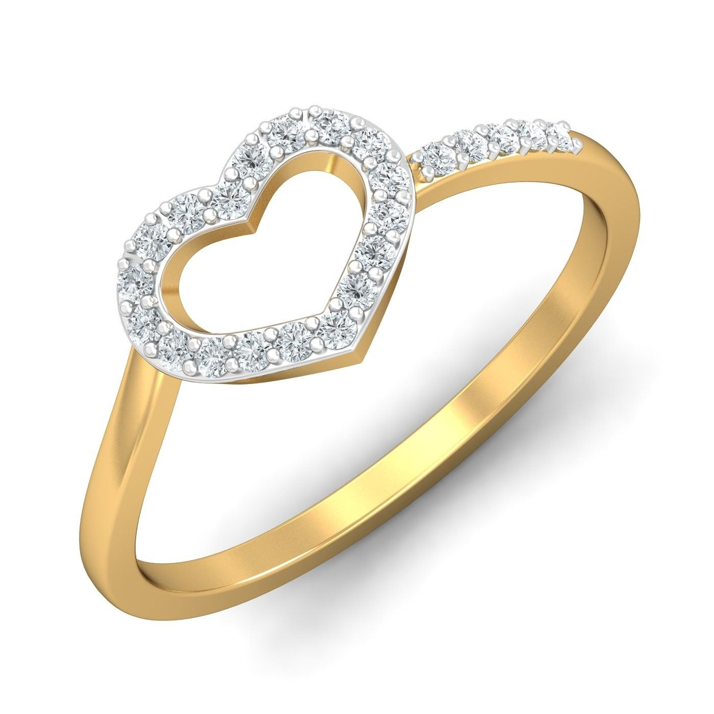 Buy Gold Rings line in India Latest Designs Certified