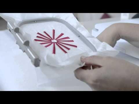BERNINA Sticksoftware 7: Aussticken eines Trapunto-Motives - YouTube