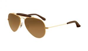 Ray Ban RB3422Q Sunglasses Gold Frame Brown Photochromic Polarized Lens 8ee4e14192