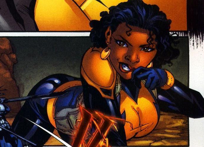Anissa Pierce Is Thunder, One Of Black Lightnings Super -3031