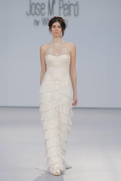 4f6b7631f Vestidos de novia para mujeres altas 2017  35 diseños para brillar y  cautivar Image  27