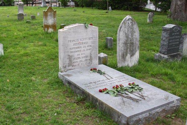 008 grobfscottfitzgerald en 2019 Sepulcro, Cementerio y