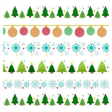 Christmas Tinsel Transparent Background.Christmas Frame And Borders Background Red Xmas Png And