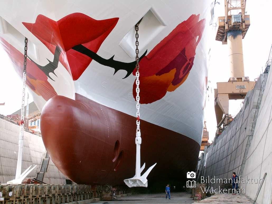 cool Fotografie »AROSA BLU im Dock @ Bremerhaven 21«,  #Bremerhaven #Hafenbilder #Stadtansichten
