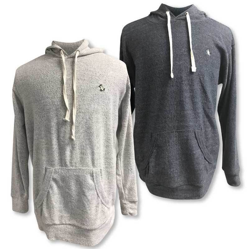 43179c6cf76 Looped fleece makes this oh-so-stylish hoodie softer than a puppy s  backside.