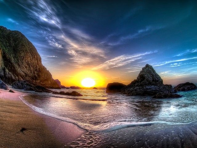 Trippy sunset wallpaper nature wallpapers sunset - Trippy nature wallpaper ...