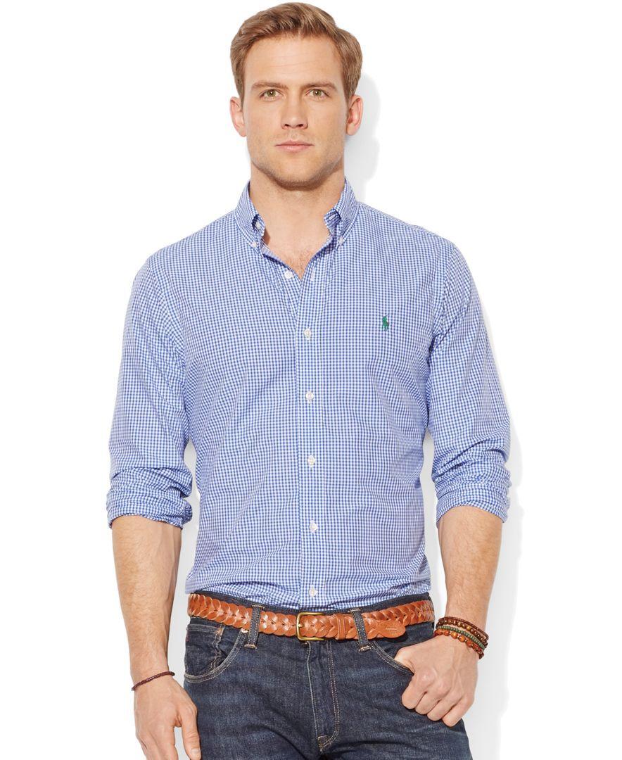 bbea3010876d1 Polo Ralph Lauren Checked Poplin Shirt