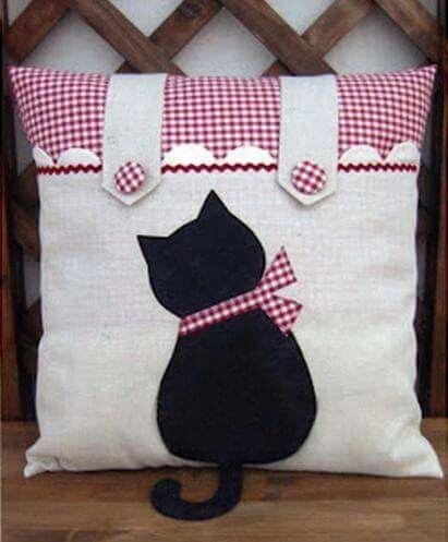 כרית חתולי | כריות | Pinterest